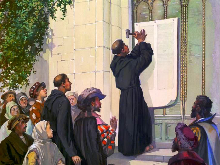 martin luther and thesis Martin luther's 95 theses paved the way for the birth of a great spiritual movement called the protestant reformation the reformation ultimately signaled the.